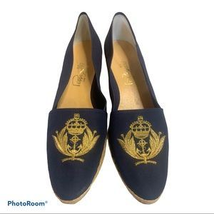Vintage Pappagallo Coat and Arms Loafers S…
